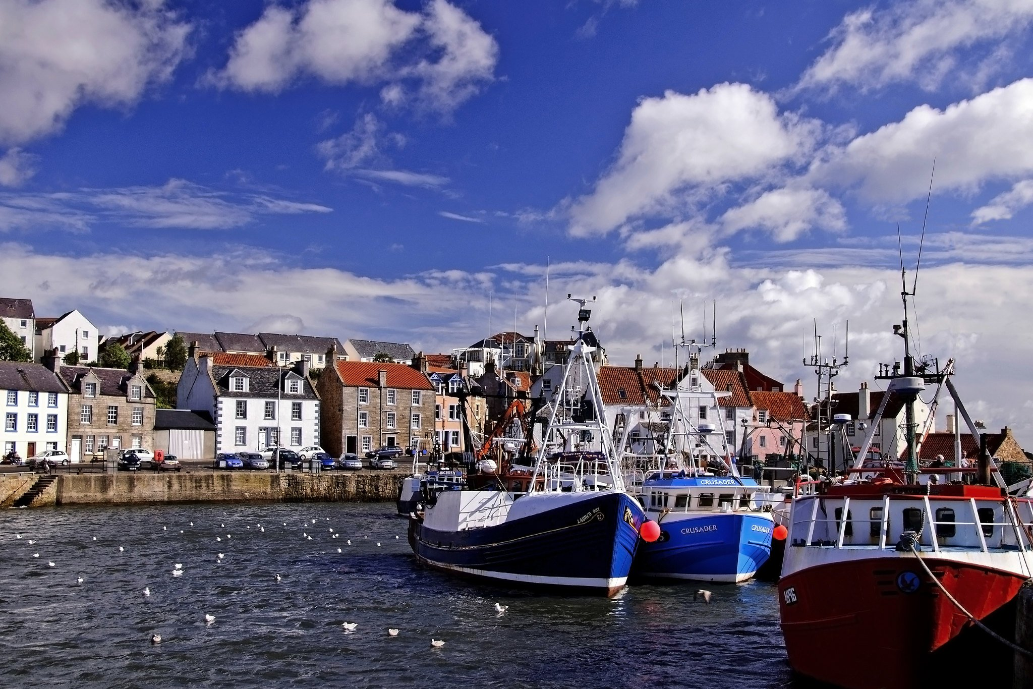 Pittenweem Harbour (Gill Bell)